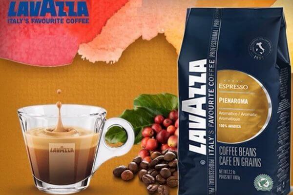 Cafea boabe birou Lavazza